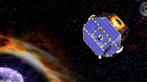 Artist's impression of the IBEX spacecraft. Pic: NASA