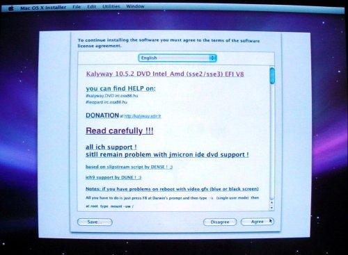 Run Mac OS X on a PC • The Register