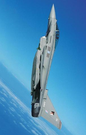 A Tranche 1 Eurofighter in RAF service