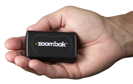 Zoombak portable A-GPS locator