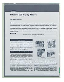 NEC LCD e-paper