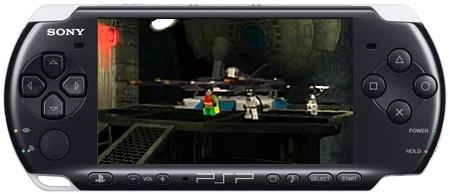 PSP-3000 with Lego Batman