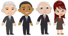 Election avatars