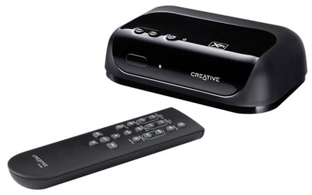 Creative Sound Blaster X-Fi notebook & wireless receiver