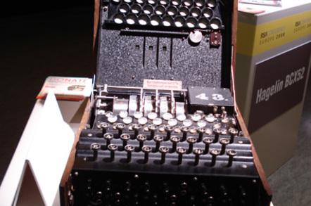 3-rotor WWII Enigma