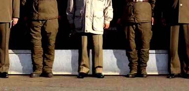 Kim Jong Il photoshop blowup