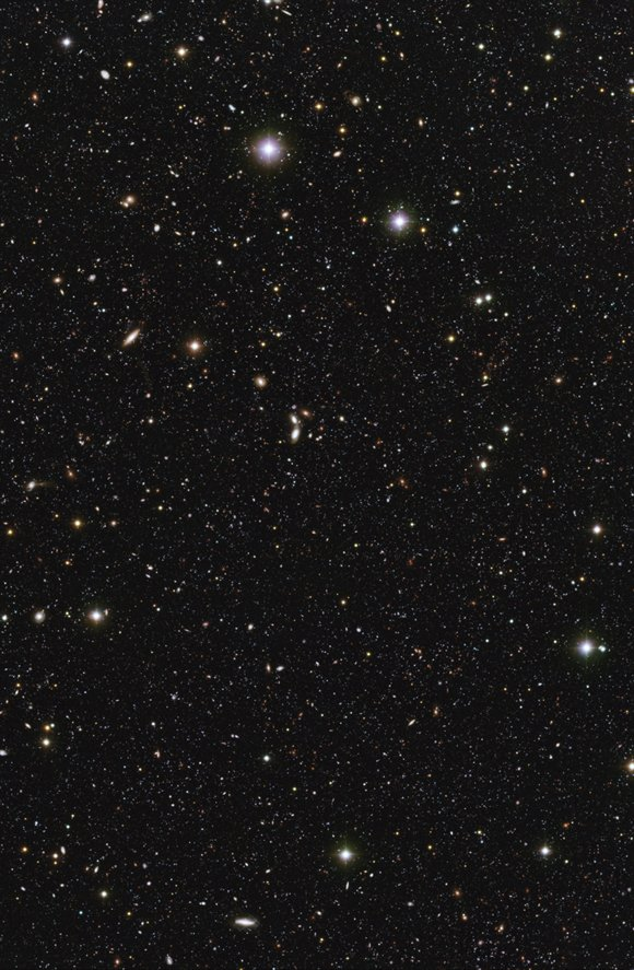 ESO u-Band image of distant galaxies