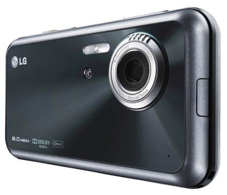 LG Renoir KC910 8Mp cameraphone