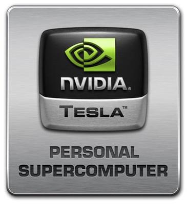 Nvidia Tesla Personal Supercomputer logo