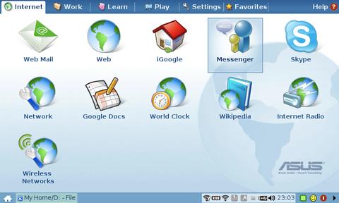 Eee PC Easy Mode