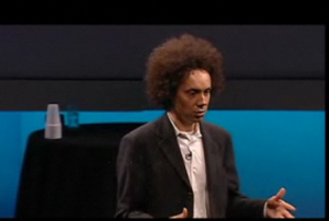 Gladwell bores away to a captivated audience