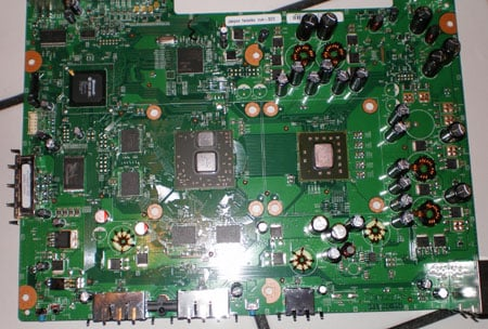Jasper xbox 360 hardware rejig spied online the register xbox360jasper01 motherboard modifications ccuart Gallery