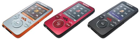 Sony NWZ-639F 16GB Walkman MP3 player