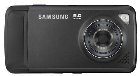 Samsung Pixon M8800 8Mp cameraphone
