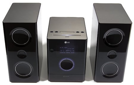 LG FA163DAB 160W iDock micro system
