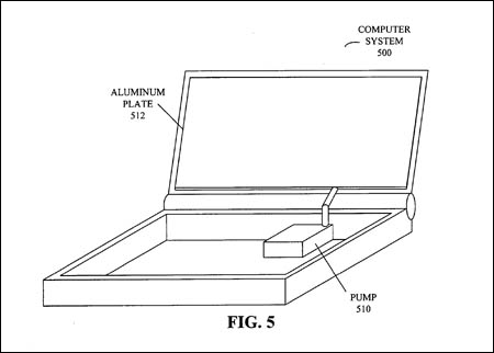 Schematic from Apple laptop-cooling patent