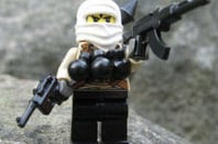 BrickArms' Toy taliban figure