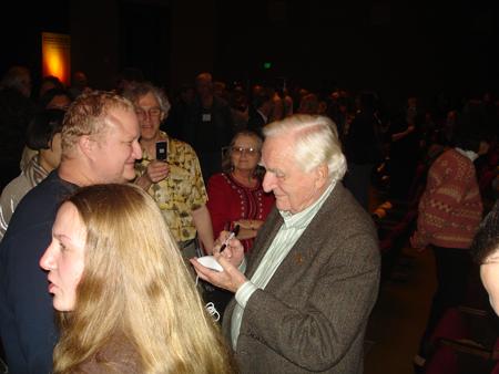 Engelbart and fans