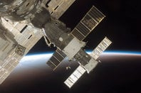 The view from the ISS
