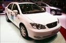 BYD F3DM plug-in hybrid automobile