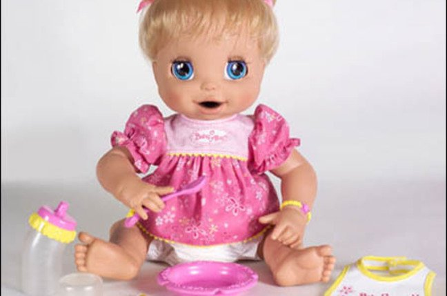 Baby Alive Learns to Potty