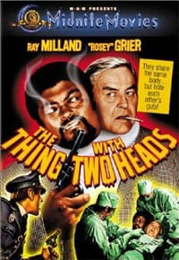 The Thing with Two Heads movie poster