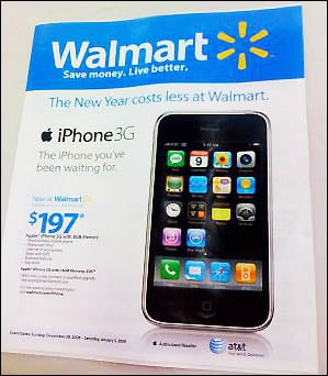 Walmart iPhone flyer