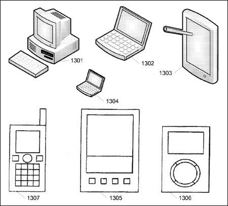Apple swipe-gesture patent