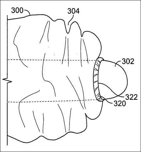 Apple high-tactility glove system patent