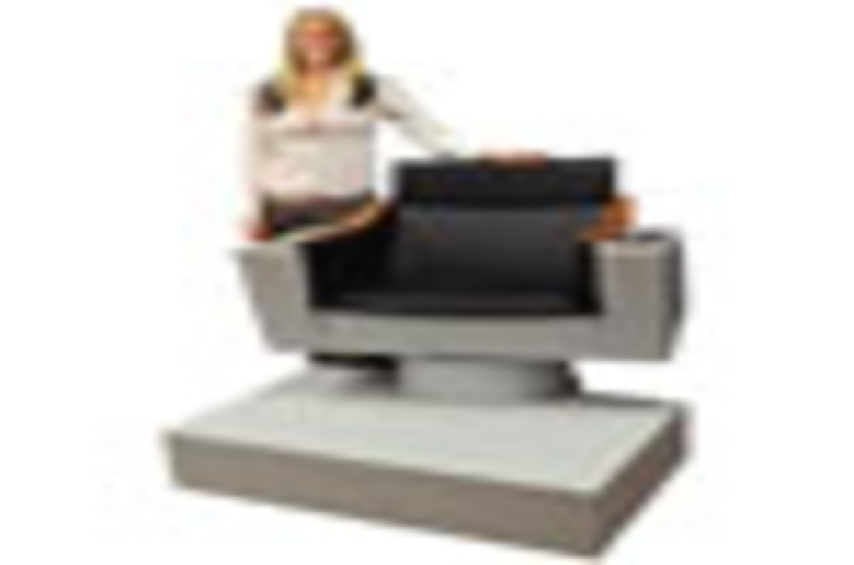 Captains chair star trek - It S The Star Trek Captain S Chair The Register