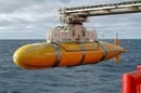 "The ""Autosub"" battery-powered undersea research robot - Pic: BNOC Southampton"