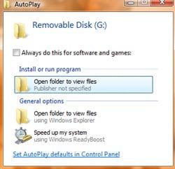 AutoPlay trickery