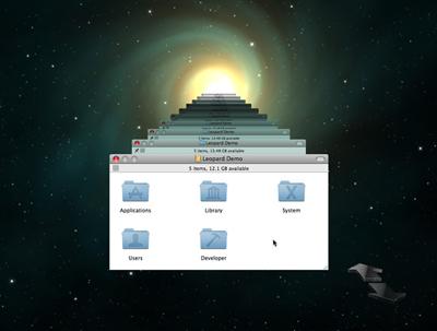 Apples Time Machine screen shot