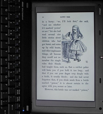 wind as ebook reader