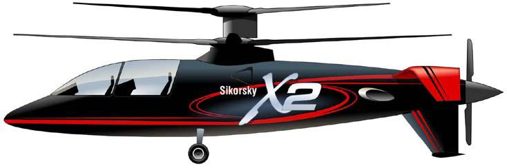 Sikorsky art of the X2 demonstrator