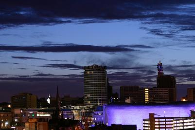 Birmingham skyline by Michael Bailey. Strictly copyright