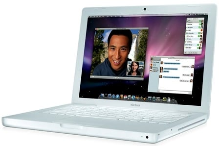 Apple White MacBook