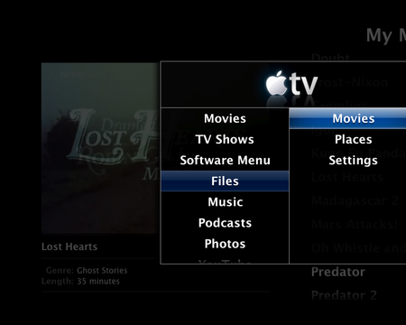 Apple TV wonky screengrab