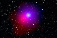 Comet Lulin in a composite Swift/Digital Sky Survey image