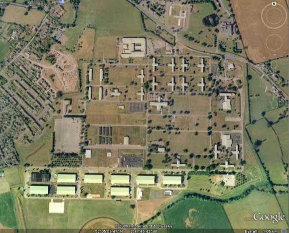 The SAS base at Credenhill