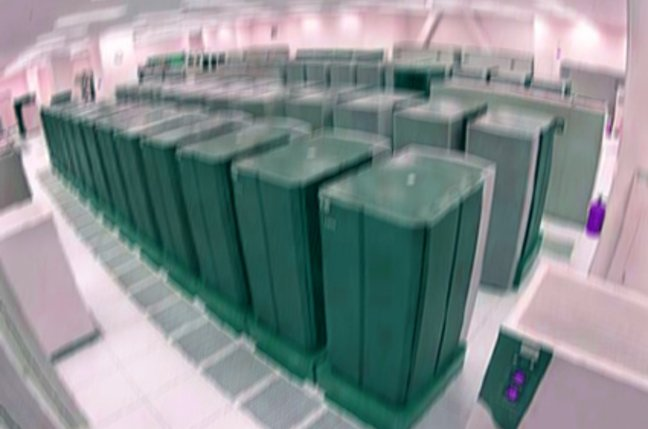 Fuzzy data centre