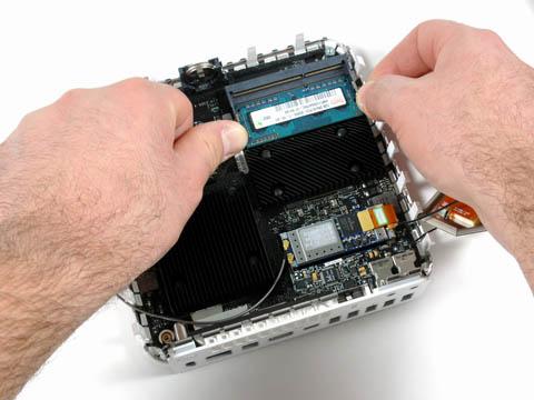 Mac mini teardown: installing RAM