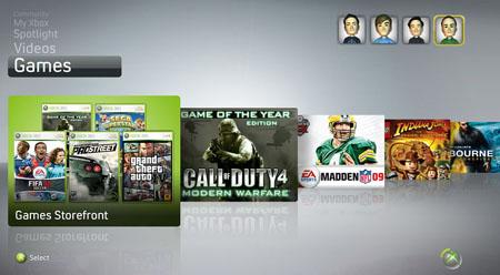 Xbox_NXE_interface