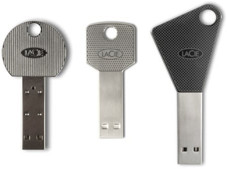 LaCie keys