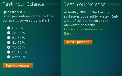 The level of scientific knowledge in America <em>is</em> shocking
