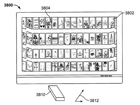 Apple remote-wand patent - thumbnails