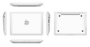 Yu Guan 'Apple' netbook