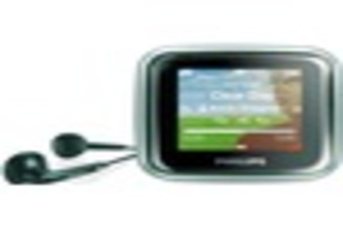 Philips Gogear Spark Mp3 Player The Register