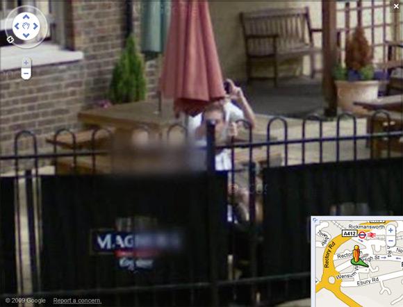Rickmansworth spymobile informant caught on Street View