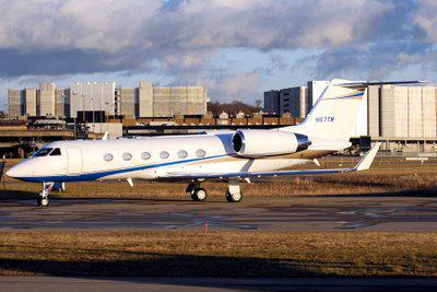 EMC Gulfstream jet